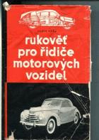 Rukověť pro řidiče motorových vozidel