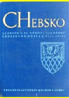 Chebsko - sborník k 85. výročí založení chebského musea (1874-1959) BEZ OBALU!