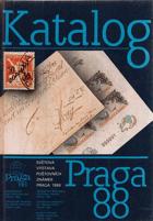 Praga 88. Světová výstava poštovních známek, Praha 26.8.-4.9.1988. Katalog. FILATELIE