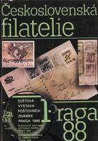 Československá filatelie - katalog výstavy, Praha červenec 1988.