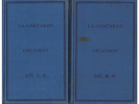 Oblomov I-IV. sv.1 - 2 KOMPLET!