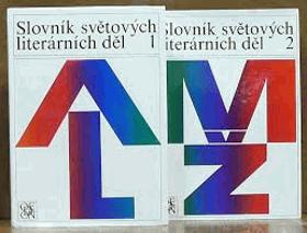 Slovník světových literárních děl sv. 1 - 2. KOMPLET!