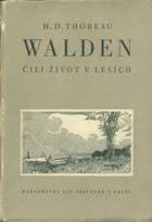 Walden čili život v lesích BEZ PŘEBALU