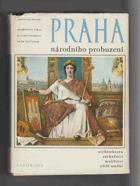 Praha národního probuzení - čtvero knih o Praze - architektura, sochařství, malířství, ...