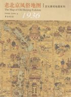 The Map of old Beijing Folklore 1936