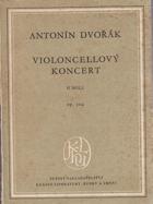 Violoncellový koncert H MOLL, Op.104