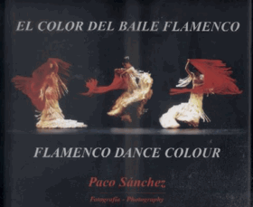 El color del baile flamenco. Flamenco dance colour