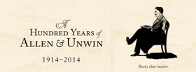 A Hundred years of Allen & Unwin 1914 – 2014