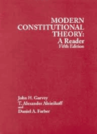 Modern constitutional theory - a reader