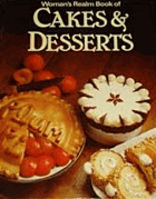 Woman's realm book of cakes & desserts