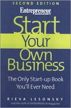 Start your own business - the only start-up book you'll ever need