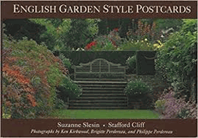 English garden style postcards
