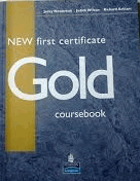New First certificate gold