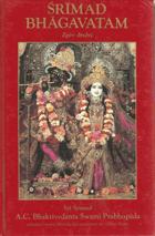 Śrīmad Bhāgavatam - s původními sanskrtskými texty, přepisem do latinského písma, ...