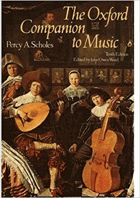 The Oxford companion to music.