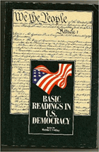 Basic readings in U.S. democracy