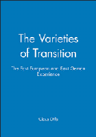 Varieties of transition - the east european and east german experience