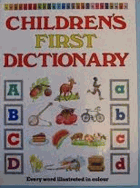 Childrens First Dictionary - every word illustr. in colour