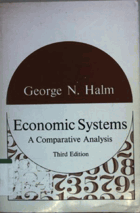 Economic systems - a comparative analysis