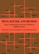 Mind, Matter, and Method