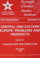Central and Eastern Europe - problems and prospects (Occasional paper no. 37)