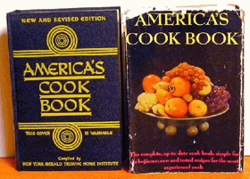 America's Cook Book the Home Institute of the New York Herald Tribune