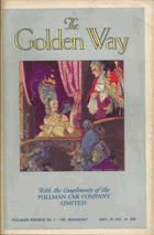 The Golden Way. Booklet contained information about Pullman services throughout the UK. September ...