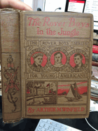 The Rover boys in the jungle - or, Stirring adventures in Africa NICE CONDITION!