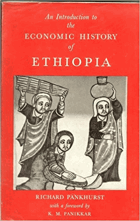 An introduction to the economic history of Ethiopia, from early times to 1800