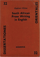 South African Prose Writing in English.