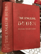 The English Duden - picture vocabularies in English with English and German indices