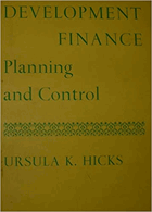Development Finance. Planning and Control