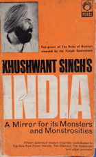 Khushwant Singh's India - A Mirror for Its Monsters and Monstrosities