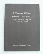 Along the Field - Eight Housman Songs for Voice and Violin