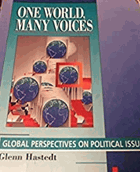One world, many voices - global perspectives on political issues.