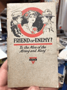 Friend or enemy? To the men of the Army and Navy