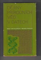 Dějiny přírodních věd v datech - chronologický přehled
