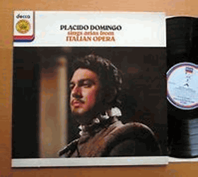 Placido Domingo Sings Arias From Italian Opera