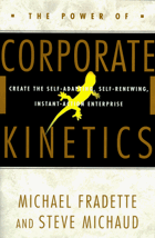 The power of corporate kinetics - create the self-adapting, self-renewing, instant-action enterprise