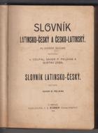 Slovník latinsko-český a česko-latinský - Slovník latinsko-český