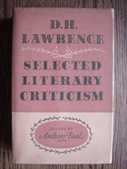 D.H. Lawrence - Selected Literary Criticism