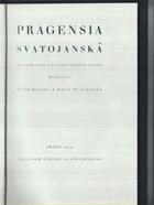 Pragensia svatojanská - sborník statí o kultuře českého baroka