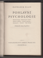Pohlavní psychologie. The Psychology of Sex