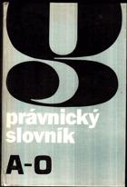 Právnický slovník II P-Ž