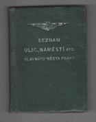 Seznam ulic, náměstí atd. hlavního města Prahy - (stav k 1. listopadu 1951)
