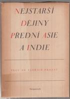 Nejstarší dějiny přední Asie a Indie