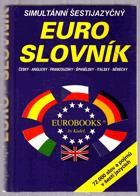 Simultánní šestijazyčný Euro-slovník