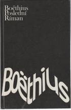 Boëthius-poslední Říman - výbor z díla