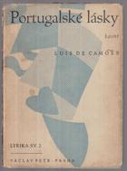 Portugalské lásky - výbor z milostné poezie ...BEZ OBALU