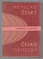 Německo-český a česko-německý kapesní slovník BEZ OBÁLKY!!!